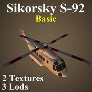 S92 Basic 3d model