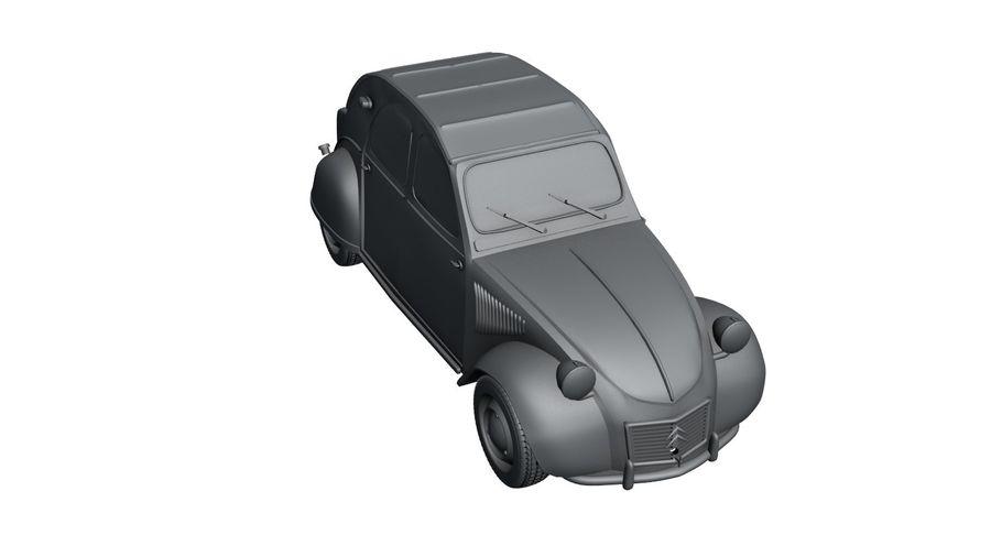 Citroen royalty-free 3d model - Preview no. 9