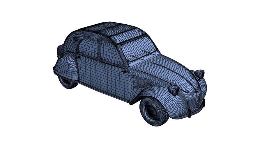Citroen royalty-free 3d model - Preview no. 12