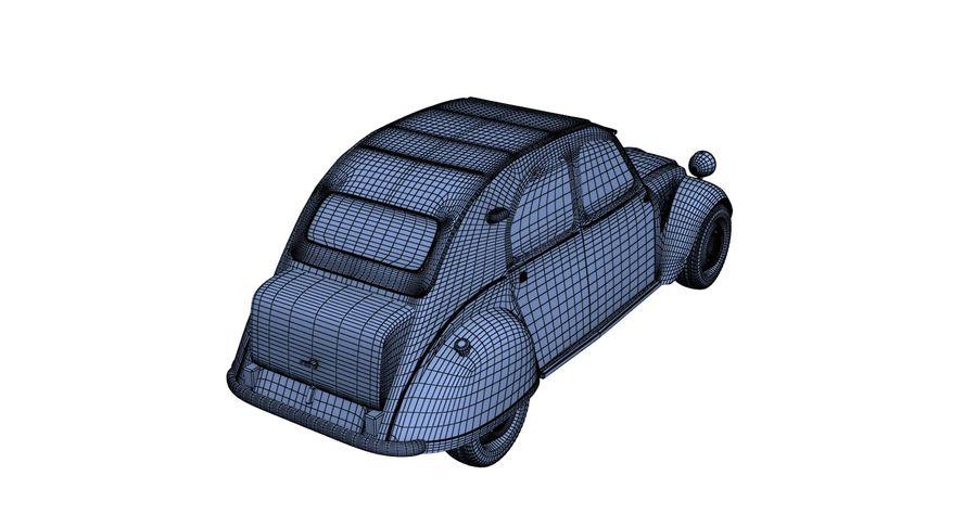 Citroen royalty-free 3d model - Preview no. 11