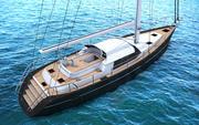 jacht 3d model