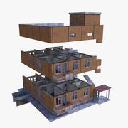 Edificio - Costruttore 3d model