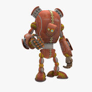 Robot Made in USSR 3d model