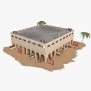 Arab Bazar 9 3d model