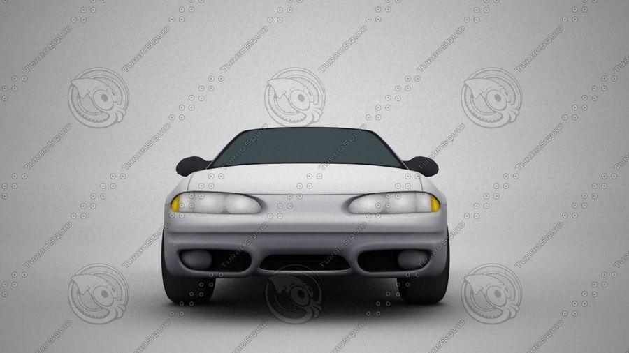 轿车 royalty-free 3d model - Preview no. 1