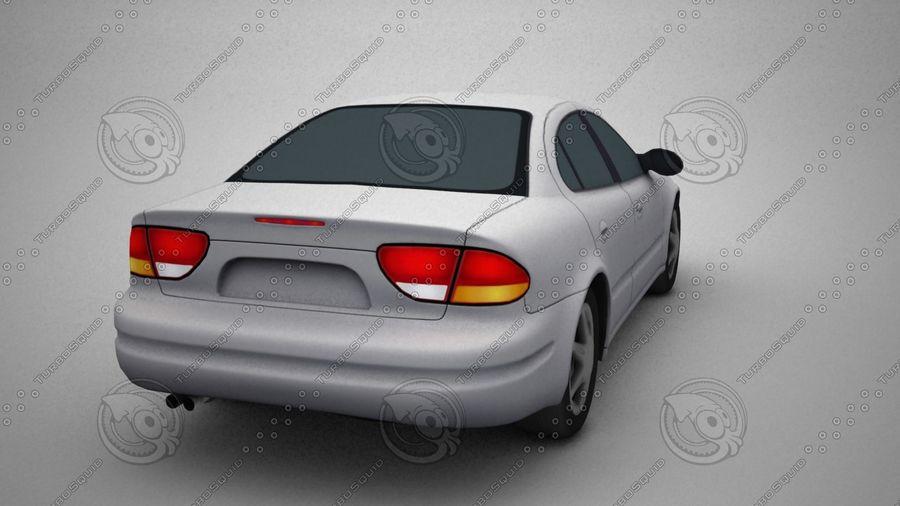 轿车 royalty-free 3d model - Preview no. 5
