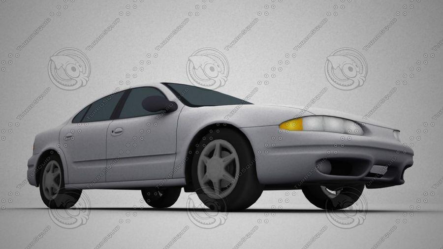 轿车 royalty-free 3d model - Preview no. 2