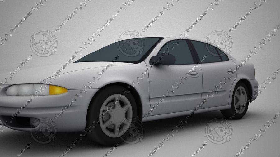 轿车 royalty-free 3d model - Preview no. 3