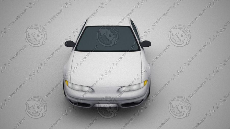 轿车 royalty-free 3d model - Preview no. 4