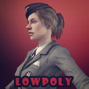 chica nazi modelo 3d
