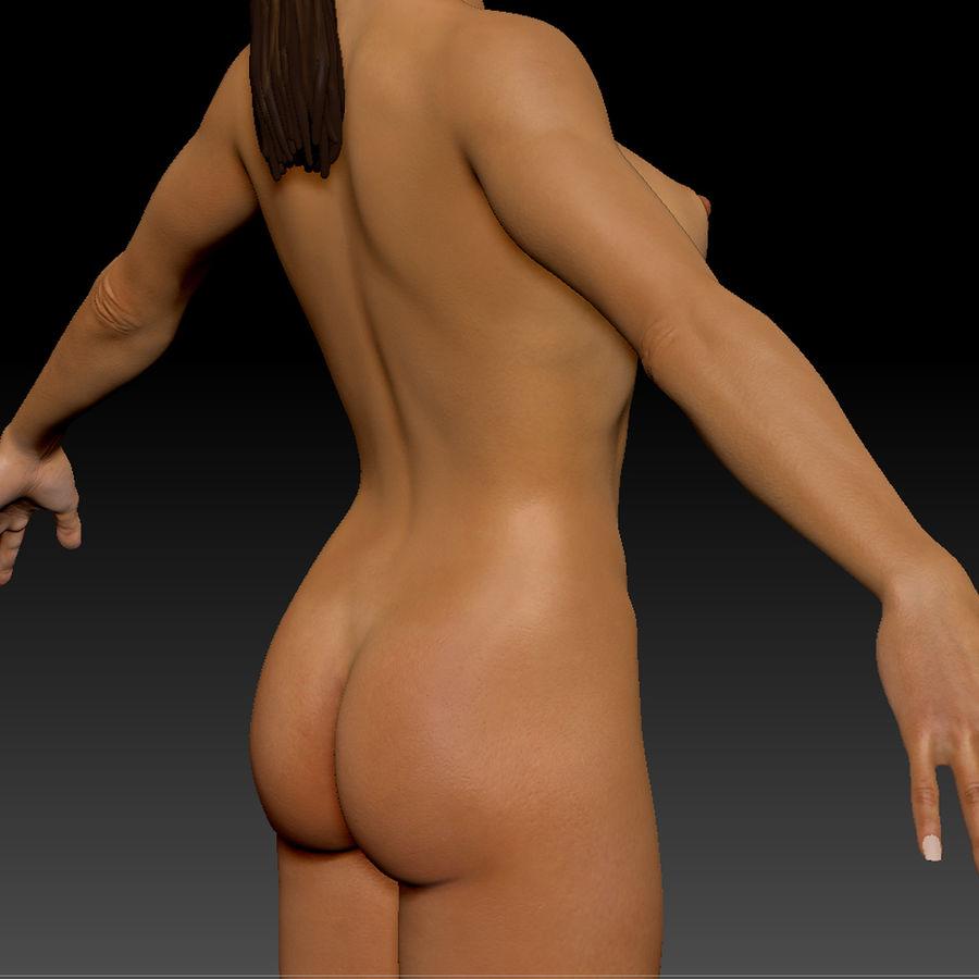 Idrottsutövare för kvinnlig kondition 1 royalty-free 3d model - Preview no. 16