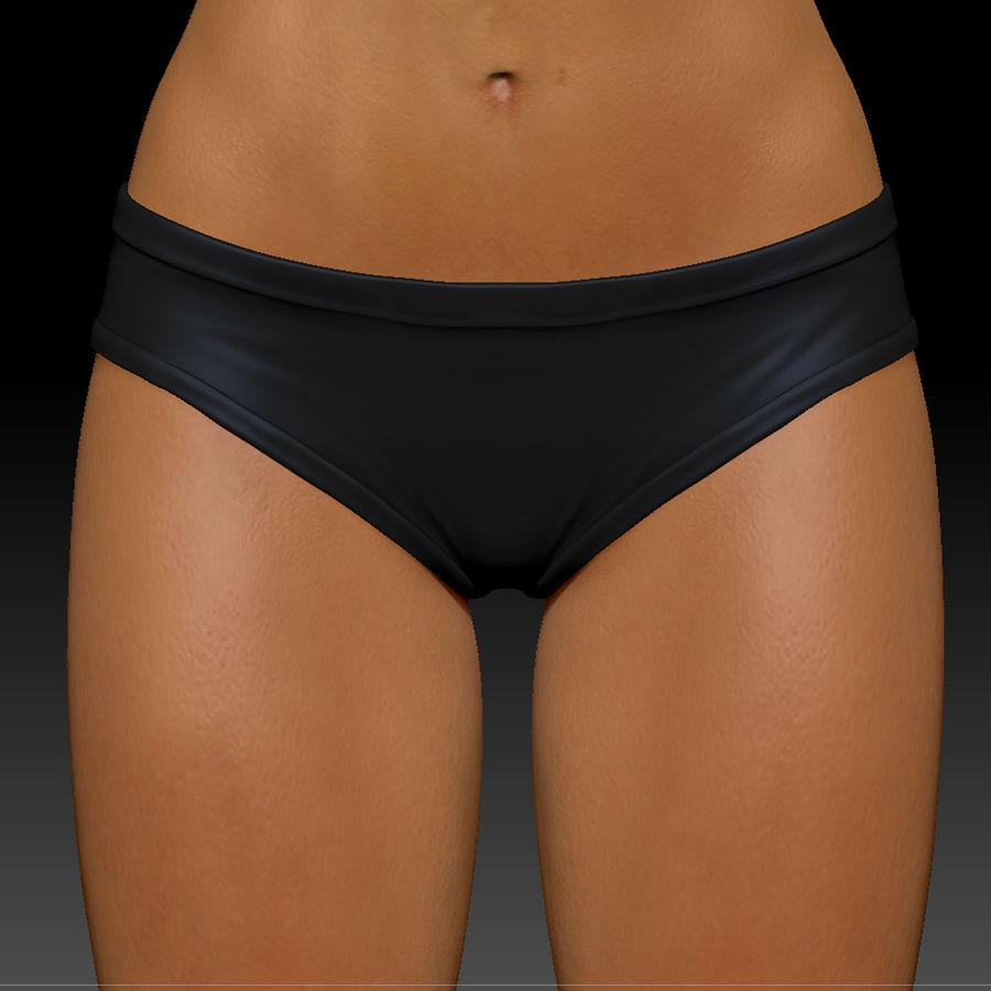 Idrottsutövare för kvinnlig kondition 1 royalty-free 3d model - Preview no. 12