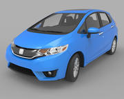 Honda Fit hatchback 3d model