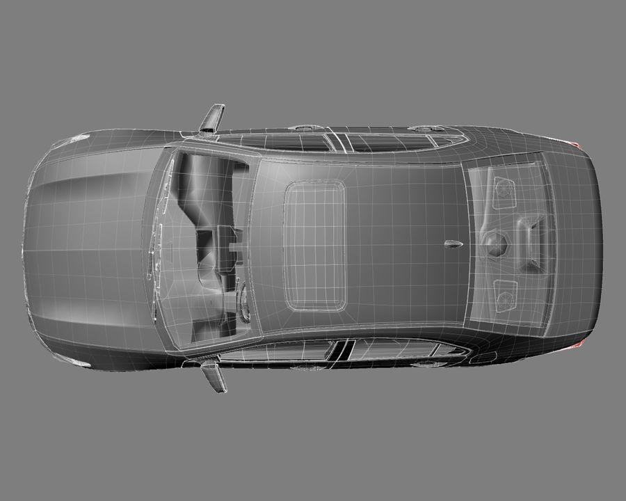 Acura TSX Sedan 2014 royalty-free 3d model - Preview no. 10