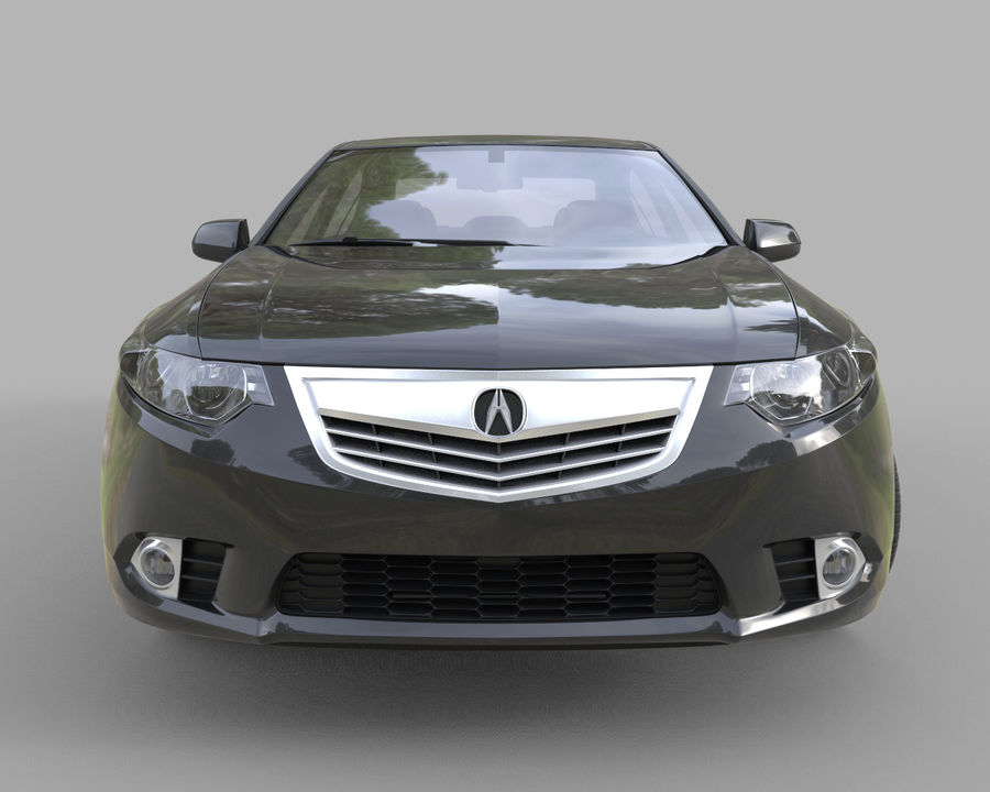 Acura TSX Sedan 2014 royalty-free 3d model - Preview no. 5