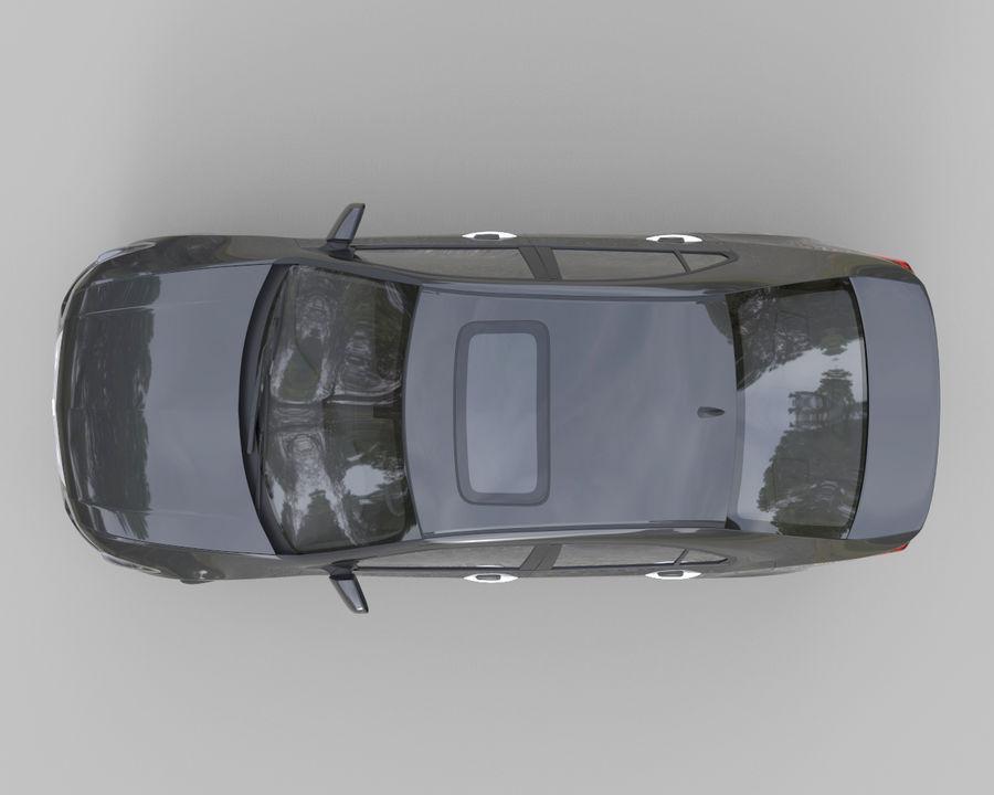 Acura TSX Sedan 2014 royalty-free 3d model - Preview no. 3