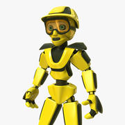 Costruttore di robot 3d model