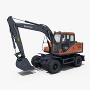 Escavadeira de Rodas 140 3d model