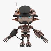 迷你机器人概念 3d model