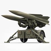 Hawk Missile Launcher 3d model