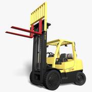 Hyster 80 Forklift (Rigged) 3d model