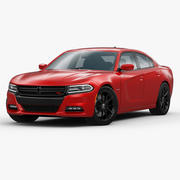 Dodge Charger RT 2015 3d model