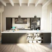 Kitchen Interior 4 3d model