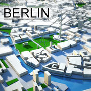 Berlin Cityscape 3d model