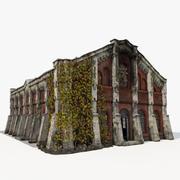 Eski sanayi Binası 3d model