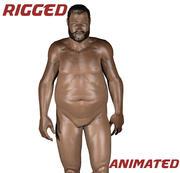 脂肪男性 3d model