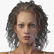 Femme réaliste 3d model