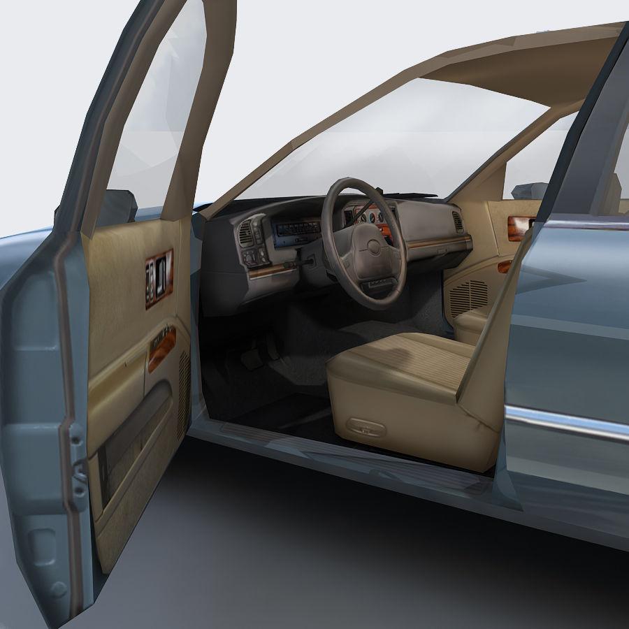 Sedan Car royalty-free 3d model - Preview no. 14