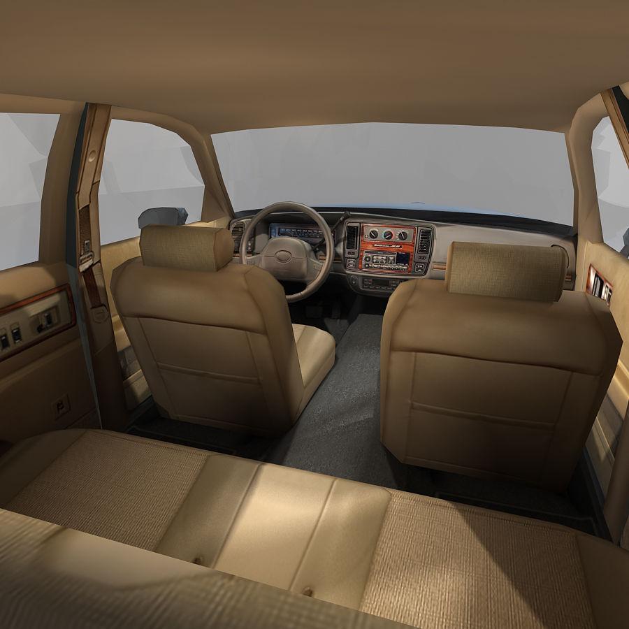 Sedan Car royalty-free 3d model - Preview no. 19