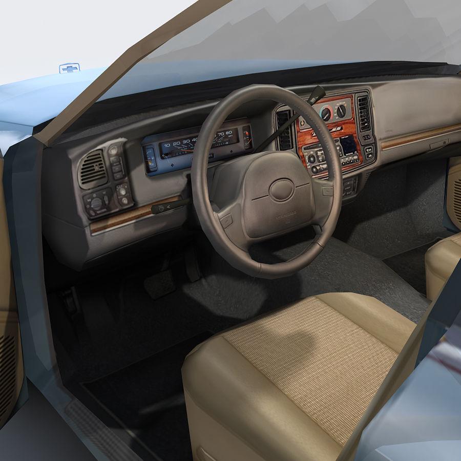 Sedan Car royalty-free 3d model - Preview no. 15