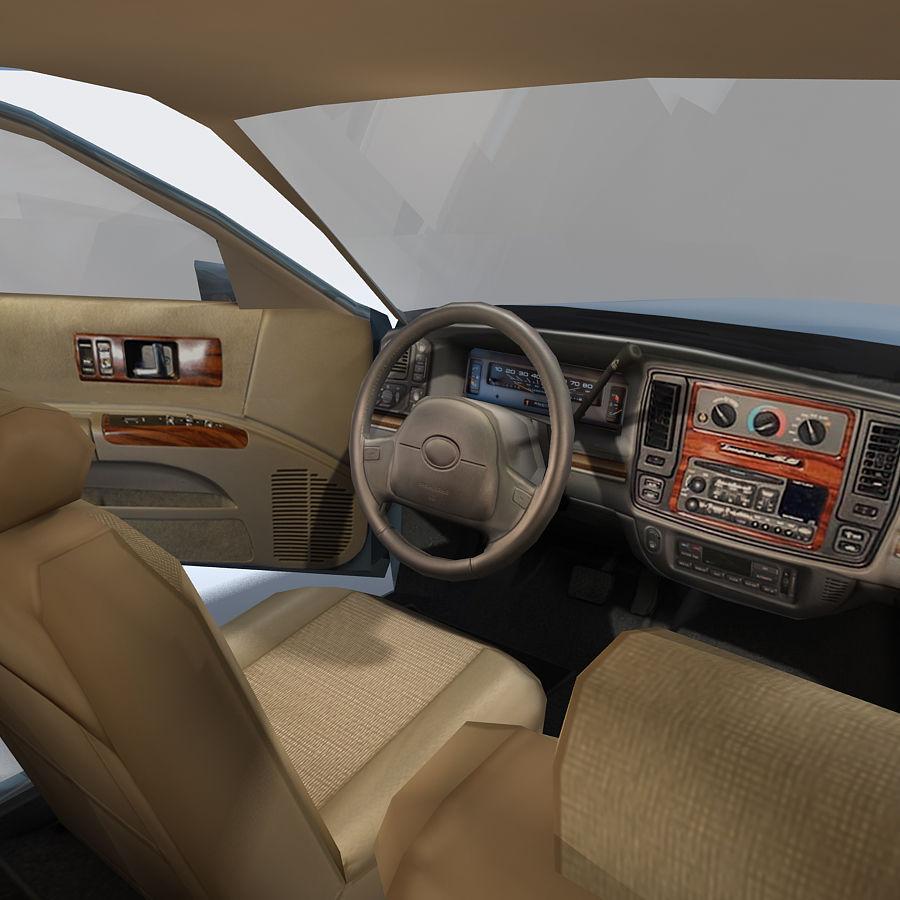 Sedan Car royalty-free 3d model - Preview no. 17