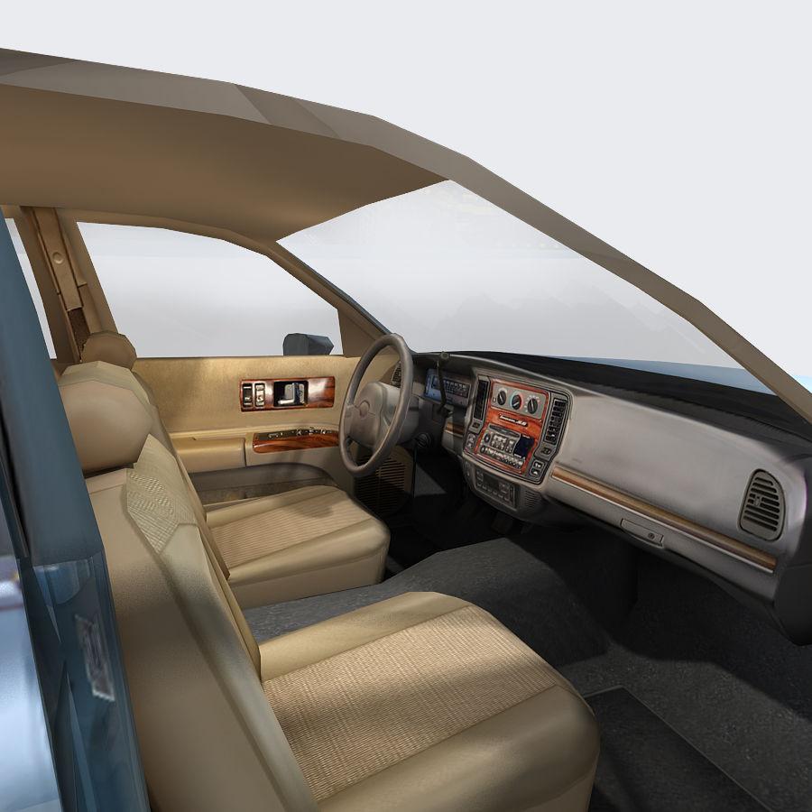 Sedan Car royalty-free 3d model - Preview no. 18
