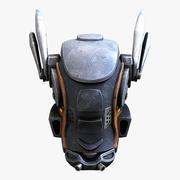 Mech Head 3d model