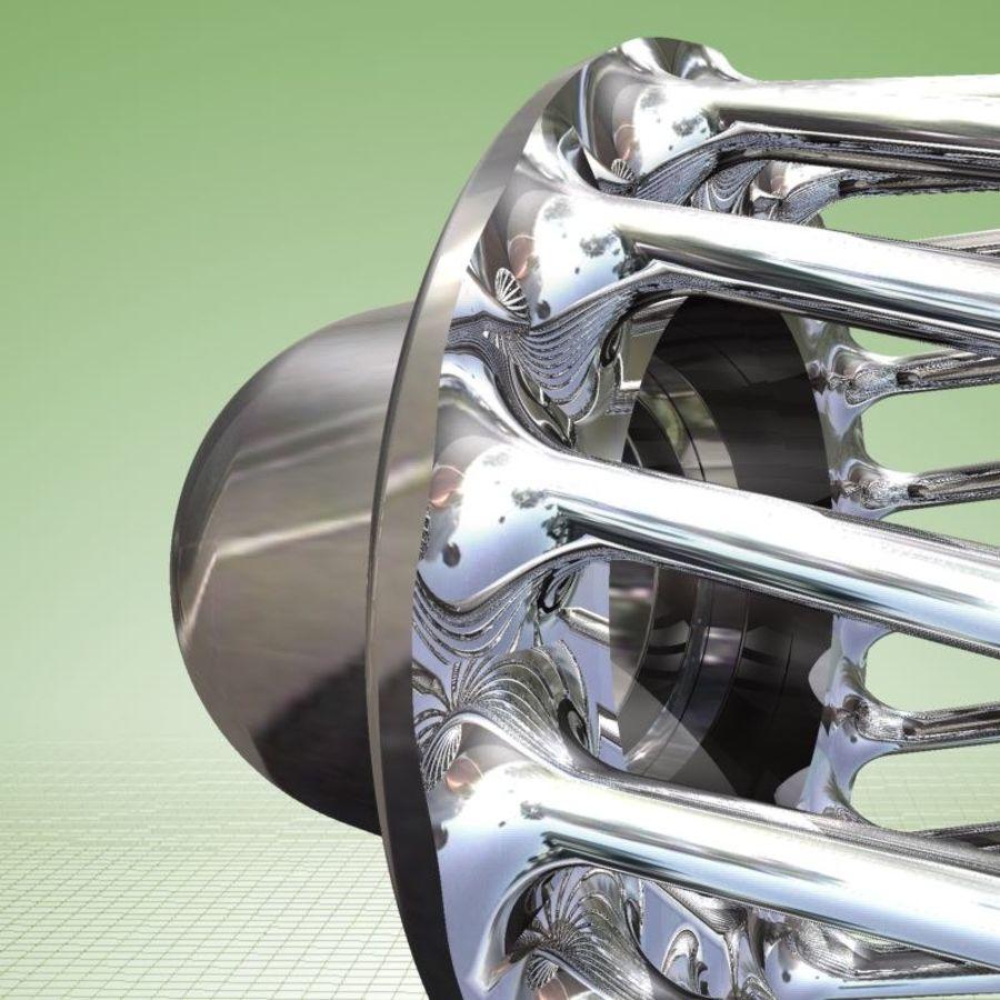 Tija de sillín de bicicleta con amortiguador royalty-free modelo 3d - Preview no. 5
