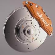 Willwood_Brakes 3d model