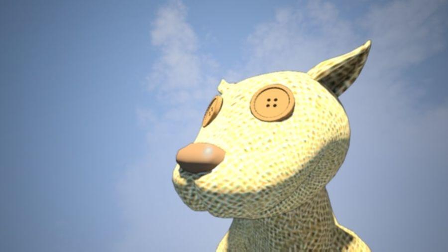Wypchane zwierzę zabawka royalty-free 3d model - Preview no. 3