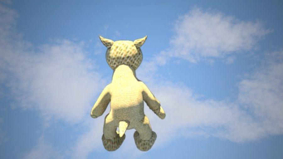 Wypchane zwierzę zabawka royalty-free 3d model - Preview no. 4