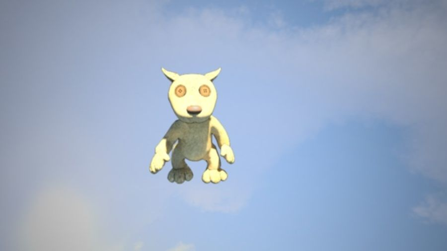 Wypchane zwierzę zabawka royalty-free 3d model - Preview no. 2