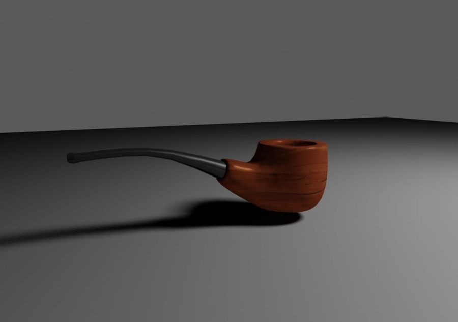 pipe royalty-free 3d model - Preview no. 1