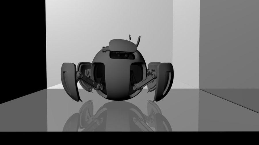 基本的なオーブドローン royalty-free 3d model - Preview no. 4