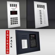 Paquete de intercomunicador modelo 3d