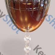 şarap bardağı 3d model