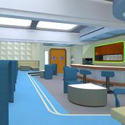 Starship Observation Lounge 3d model
