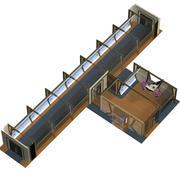 Sensör Bakım Odası 3d model