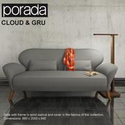 Porada Cloud y Gru modelo 3d