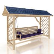 Huśtawka ogrodowa 3d model